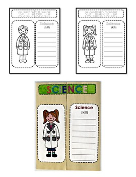 Science Lap Book: Tools, Safety, Scientists and Scientific Method