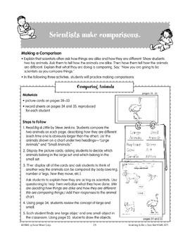 Scientists Make Comparisons