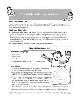 Scientists Make Observations