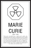 Scientists - Marie Curie