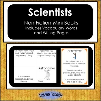 Scientists Non Fiction Mini Books