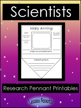 Scientists Research Pennant Posters