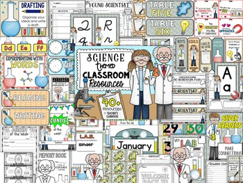 Scientists Theme Decor Pack