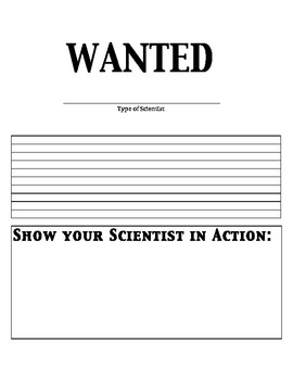 Scientists Wanted