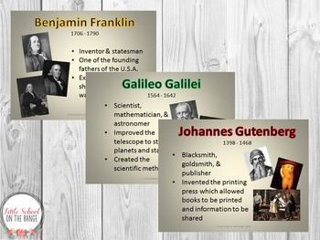 Inventors and Scientists BUNDLE