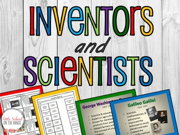 Inventors and Scientists BUNDLE
