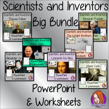 Scientists and Inventors Big Bundle