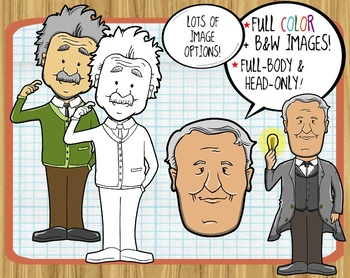 Scientists and Inventors ClipArt
