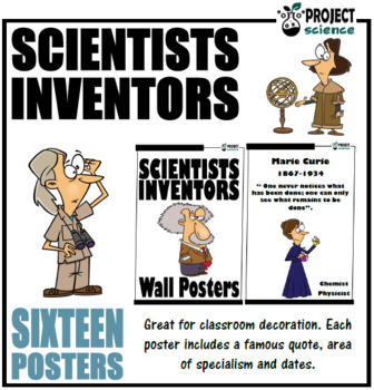 Scientists and Inventors Posters