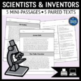 Scientists and Inventors Reading Passages