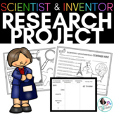 Scientist and Inventor Research Project Distance Learning