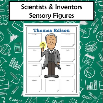 Scientists and Inventors Sensory Figures