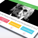 SCIENCE: Scientists and Inventors Trivia - Interactive PowerPoint Game