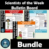 Scientists of the Week Bulletin Board Set Bundle