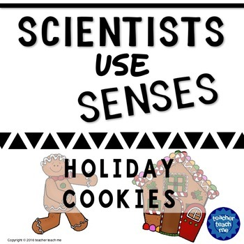 Scientists use Senses - holiday cookies