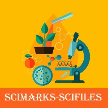 Scimarks-Scifiles Biology Bundle - Bookmarks & Files