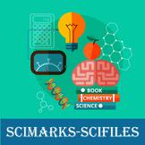 Scimarks-Scifiles Science Bundle - Bookmarks & Files
