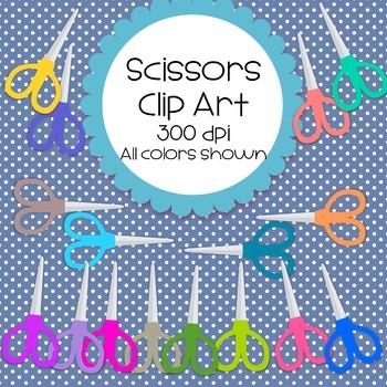 Scissor Clip Art - 16 total - 300 dpi