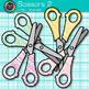 Scissor Clip Art {Rainbow Glitter Back to School Supplies for Teachers} 2