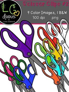 Scissor Clips #2 ~ by LG Doodles