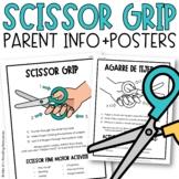 Scissor Grip {Parent Info Sheet and Poster}