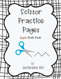 Scissor Practice Pages: Apples Pack
