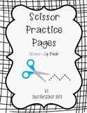 Scissor Practice Pages: Friendship Pack