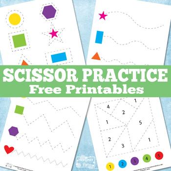 Scissor Practice Printables