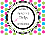 Scissor Practice Strips: Apples Pack, Small