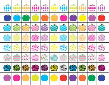 Scissor Practice Strips: Apples Pack, Small