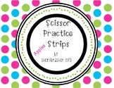 Scissor Practice Strips: Apples Pack, Large