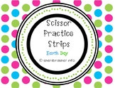 Scissor Practice Strips: Earth Day Pack, Large