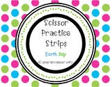 Scissor Practice Strips: Earth Day Pack, Medium
