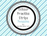 Scissor Practice Strips: Penguins Pack, Medium