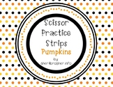 Scissor Practice Strips: Pumpkin Pack, Large