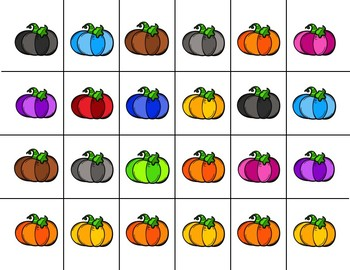 Scissor Practice Strips: Pumpkin Pack, Large