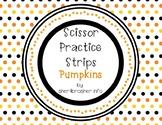 Scissor Practice Strips: Pumpkin Pack, Medium