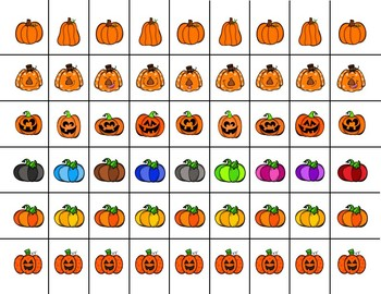 Scissor Practice Strips: Pumpkin Pack, Medium