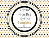 Scissor Practice Strips: Pumpkin Pack, Small
