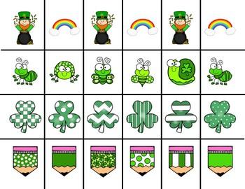 Scissor Practice Strips: St Patrick's Day BUNDLE