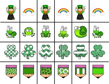 Scissor Practice Strips: St Patrick's Day Pack, Large