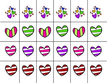 Scissor Practice Strips: Valentine's Pack, Large