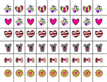 Scissor Practice Strips: Valentine's Pack, Medium