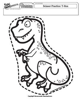 Scissor Practice T-Rex