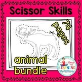 Animal Bundle Scissoring Skills (arctic, farm, insect, oce