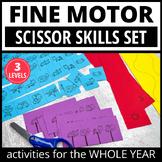 Scissor Skills Activities | Fine Motor Preschool Cutting Practice for the Year