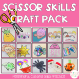 Scissor Skills Cutting Practice Craft Pack
