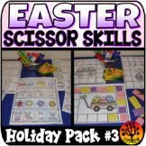 Scissor Skills Easter Scissors Practice Cut and Paste No P