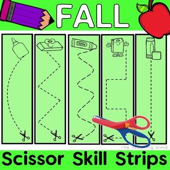 Scissor Skills {Fall Back to School Fine Motor Bin}