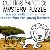 Scissor Skills – Mystery Puzzle, Zoo Themed